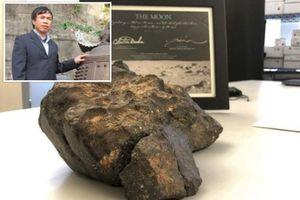Đại gia Xuân Trường tặng mảnh thiên thạch 600.000 USD cho chùa Tam Chúc, Hà Nam