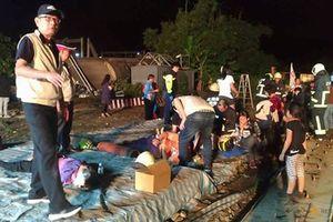 Lật tàu kinh hoàng ở Đài Loan khiến 18 người chết, 175 người bị thương