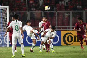 U19 Indonesia suýt ngược dòng khó tin trước U19 Qatar