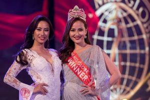 Khánh Ngân chia sẻ lý do sự cố tại Miss Globe 2018