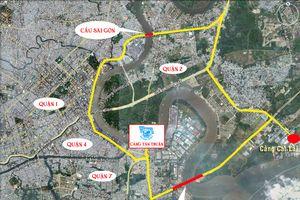 Giải pháp sáng tạo giúp khắc phục triều cường tại cảng Tân Thuận