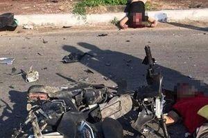 Xe máy tông trực diện, 2 người tử vong, 1 người bị thương nguy kịch