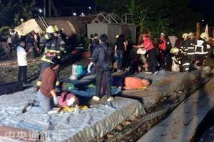 Đài Loan công bố nguyên nhân và video về vụ lật tàu cao tốc Puyuma