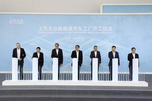Volkswagen bắt đầu xây dựng nhà máy EV duy nhất tại Trung Quốc