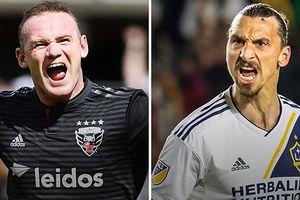 Vua phá lưới Giải bóng đá nhà nghề Mỹ: Rooney kém Ibrahimovic 10 bàn