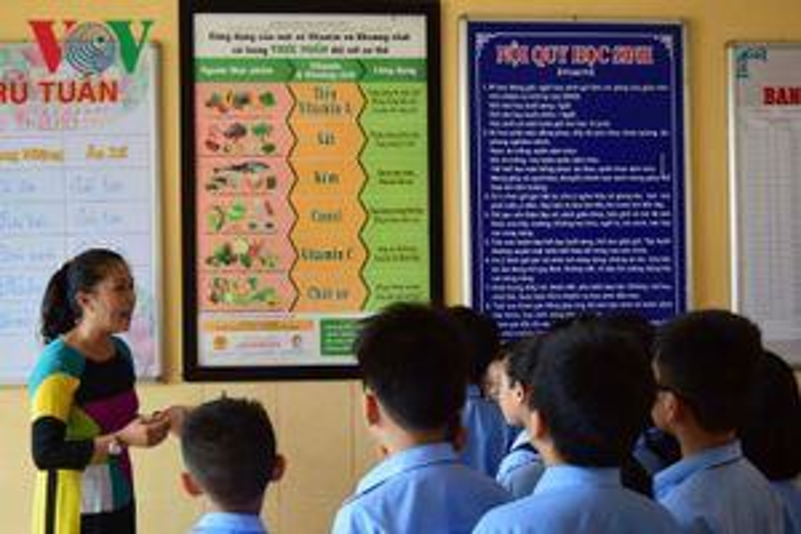 Thúc đẩy bữa ăn học đường qua nâng cao năng lực chuẩn bị thực đơn