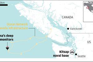Canada lắp đặt thiết bị giám sát gần căn cứ tàu ngầm hạt nhân Mỹ