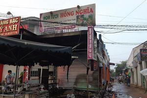 Cháy cửa hàng hoa, 2 người chết ở Đắk Lắk: Nghe tiếng khóc thét cầu cứu, nhiều người bất lực