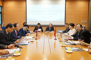 Tăng cường kết nối, xây dựng quan hệ hợp tác Hà Nội-Thượng Hải
