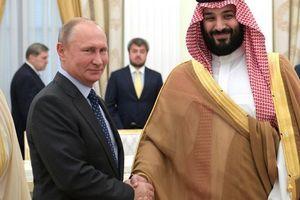 Ngược dòng bão, 'mượn' nghệ thuật, Nga thắt chặt quan hệ với Arab Saudi?