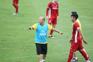 HLV Park Hang-seo vẫn chưa ưng ý sau những thử nghiệm thay thế Văn Thanh
