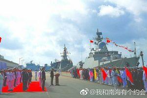Tàu 015 - Trần Hưng Đạo uy dũng trên đất Trung Quốc