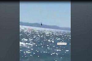 Trực thăng hải quân Mexico đâm sầm xuống biển khi đang tuần tra