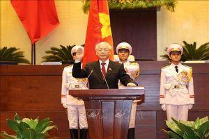 Tổng Bí thư Nguyễn Phú Trọng được Quốc hội bầu làm Chủ tịch nước