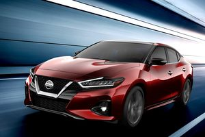 Ảnh Nissan Maxima 2019 trước ngày ra mắt