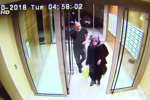 Những hình ảnh cuối cùng của nhà báo Khashoggi trước khi bị sát hại