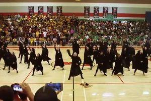 Bài nhảy flashmob tái hiện lại các sự kiện trong phim Harry Potter