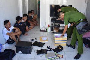 Cảnh sát điều tra nhóm người dương tính ma túy, cho vay nặng lãi