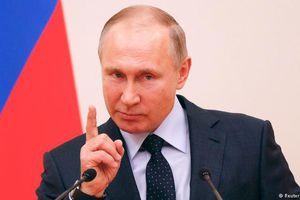 Tổng thống Putin đáp trả lệnh trừng phạt của Ukraine