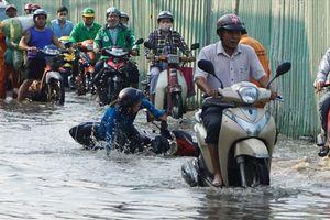 Sài Gòn lại sắp ngập nặng vì triều cường vượt báo động 3