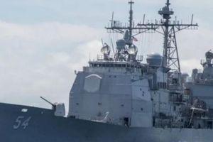 Hai tàu chiến Mỹ rầm rộ qua eo biển Đài Loan giữa căng thẳng với TQ