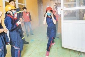 Một ngày làm lính cứu hỏa
