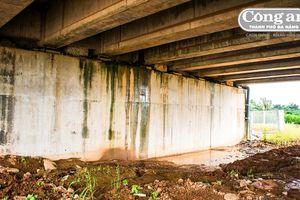 Cao tốc Đà Nẵng - Quảng Ngãi: Thấm nước do chậm khắc phục lỗi thi công