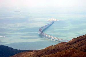 Cầu vượt biển dài nhất thế giới sắp thông xe