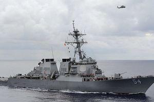 Nguy cơ căng thẳng leo thang khi 2 tàu chiến Mỹ đi qua eo biển Đài Loan
