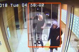 Thổ Nhĩ Kỳ công bố những hình ảnh cuối cùng của nhà báo Khashoggi trước khi bị sát hại