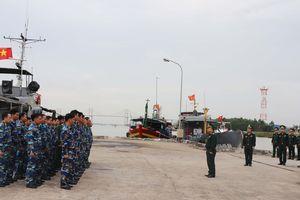 Bộ Tư lệnh BĐBP kiểm tra toàn diện công tác Biên phòng tại Hải đoàn 38 BĐBP
