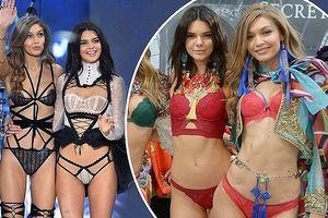 Em gái Kim Kardashian trở lại sàn diễn nội y Victoria's Secret 2018