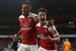 Video bàn thắng Arsenal 3-1 Leicester: 'Pháo' nổ tưng bừng
