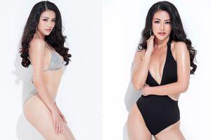 Phương Khánh nóng bỏng với bikini sau khi ghi điểm ở Hoa hậu Trái đất