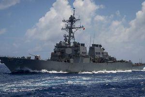 Điều động tiếp 2 tàu chiến đi qua eo biển Đài Loan, Mỹ muốn chọc giận TQ?