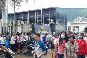 3000 công nhân Công ty Ivory Việt Nam tại Thanh Hóa đình công đòi tăng lương