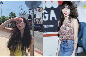 HyunA gây sốc với thân hình gầy tong teo sau bão scandal