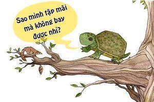 Tối cười: Lý do khiến rùa muốn tập bay
