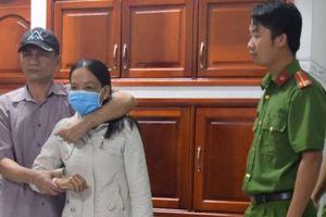 Thực nghiệm hiện trường vụ nữ tiểu thương bán thịt bị sát hại, cướp tài sản