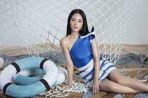 Khánh Linh The Face lại khoe váy áo sang chảnh sau khi được lên tạp chí nước ngoài vì mặc đẹp