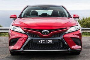 Toyota Camry 2018 sắp ra mắt thị trường Đông Nam Á