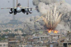 Máy bay Syria trút 'mưa bom', khủng bố IS chết như ngả rạ
