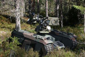 Đáp trả Nga, phương Tây phát triển robot diệt tăng với tên lửa Javelin