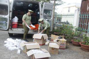 Bắt giữ xe khách chở 2.500 gói thuốc lá Jet nhập lậu