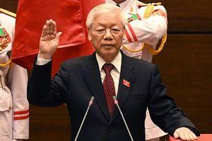 Tân Chủ tịch nước Nguyễn Phú Trọng: 'Lúc này tôi vừa mừng, vừa lo'