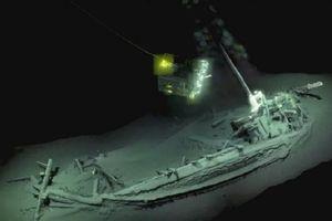 Phát hiện tàu đắm lâu đời nhất thế giới tại Biển Đen