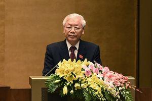 Tổng Bí thư-Chủ tịch nước Nguyễn Phú Trọng: 'Tôi vừa mừng, vừa lo'