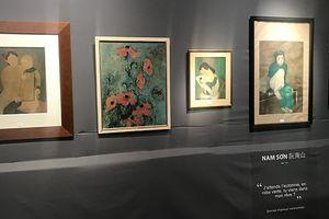 Bức tranh của họa sĩ Nguyễn Nam Sơn lập kỷ lục đấu giá với gần 12 tỷ đồng