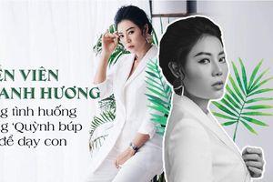 Diễn viên Thanh Hương dạy con gái qua cảnh 'nóng' trong Quỳnh búp bê