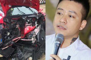 Siêu xe 16 tỷ vỡ nát, Tuấn Hưng tiết lộ điều khó tin về thiệt hại sau tai nạn kinh hoàng